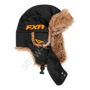 Шапка FXR Trapper, Black/Orange