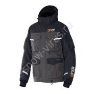 Куртка FXR Excursion Ice Pro RL с утепленной вставкой, Black/Char/Orange