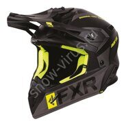Шлем FXR Helium Ride Co, Black/Hi Vis