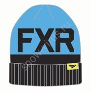 Шапка FXR Helium, Black/Blue