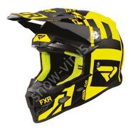 Шлем FXR Clutch Evo, Black/Hi Vis