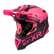 Шлем FXR Helium Ride Co, Elec Pink/Black