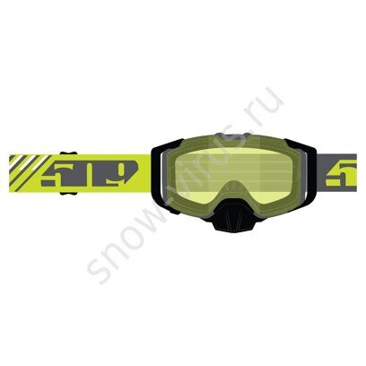 Очки 509 Sinister X6 Fuzion, Hi-Vis with Polarized Yellow