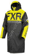 Пальто FXR Warm Up, Black/Hi-Vis