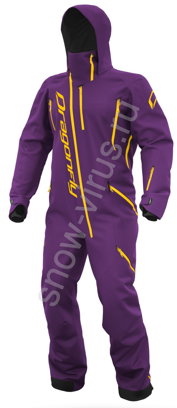 Комбинезон DRAGONFLY Extreme Woman Purple-Yellow 2021