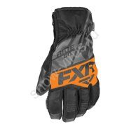 Мужские перчатки FXR Fuel Short Cuff, Black/Char/Orange