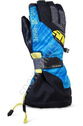 Перчатки 509 Backcountry с утеплителем, Blue Hi Vis
