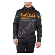 Толстовка FXR Race Division, Black/Orange